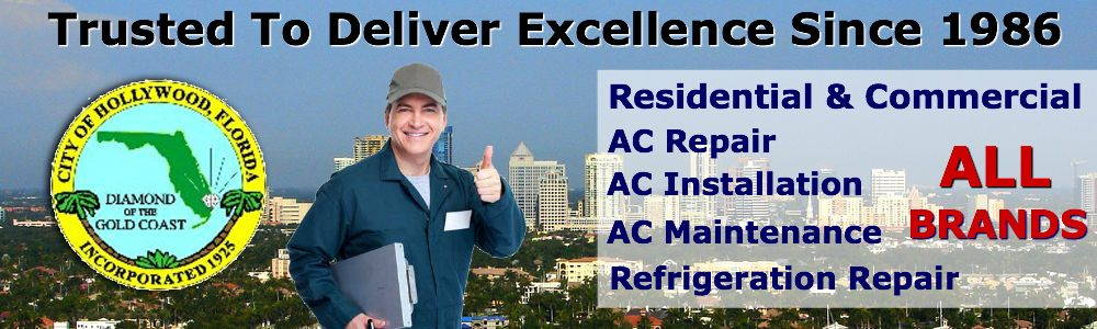 ac repair service hollywood fl air conditioning contractors south florida