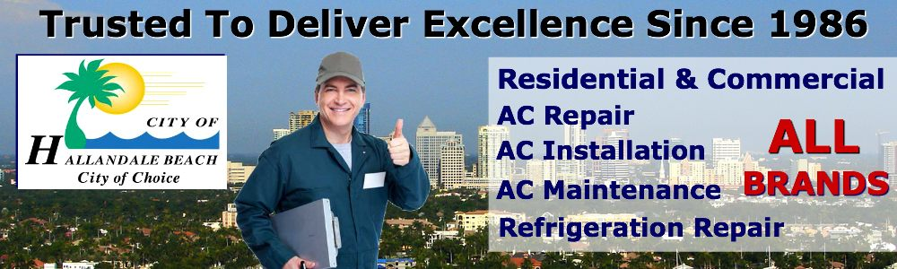 ac repair service hallandale beach 24 hour