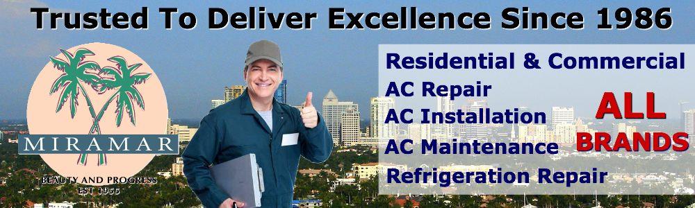 AC Repair Service Miramar FL air conditioning contractors South Florida