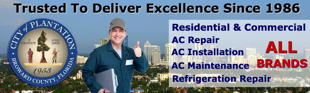AC Repair Service Plantation FL air conditioning contractors in South Florida