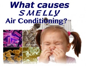 what causes smelly air conditioning fort lauderdale fl