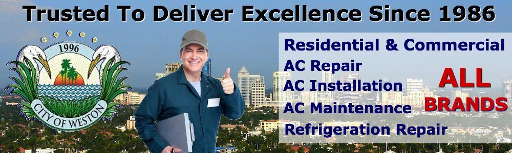 ac repair service weston fl air conditioning contractors in south florida