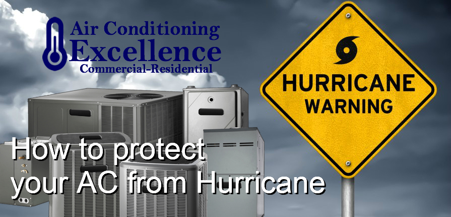 How to protect your Air Conditioning equipment in hurricane season